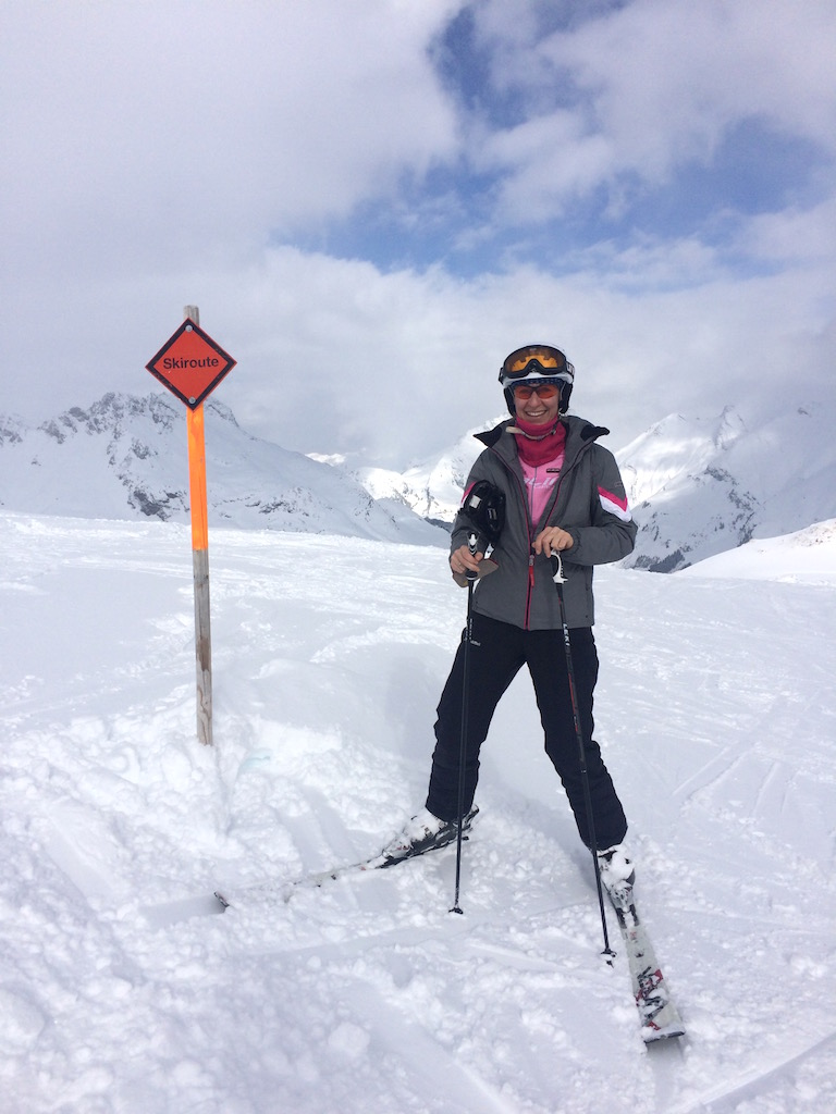 ich am Arlberg